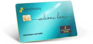 Synchrony Home Credit Card - Special Financing